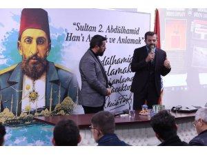 """Gürsu Belediyesi'nden """"Ulu Hakan Abdülhamid Han"""" konferansı"""