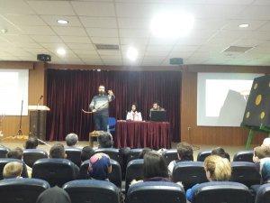 """Bozüyük'te """"Geleneksel ve modern okçuluğun püf noktaları"""" semineri verildi"""