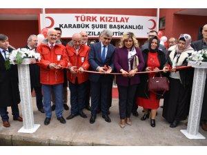 Türk Kızılayı Karabük Şubesi 'Kızılay Butik' açılışını yaptı