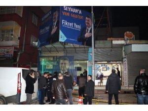 AK Parti seçim bürosuna molotoflu saldırı