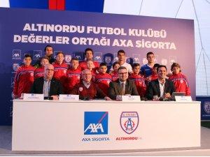 Altınordu Futbol Kulübü'nün 'Değerler Ortağı': AXA Sigorta