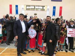 Okullar arası Halk Oyunları il Birinciliği tamamlandı