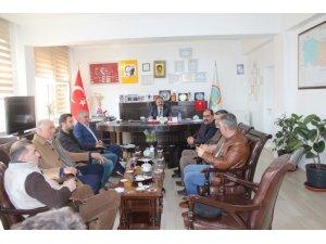 Iğdır'da süt üreticilerinin sorunları ele alındı