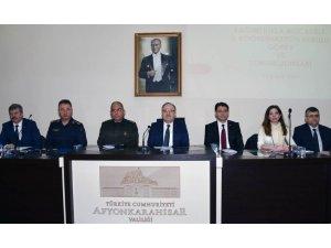 Afyonkarahisar Bağımlılıkla Mücadele İl Koordinasyon Kurulu toplantısı yapıldı