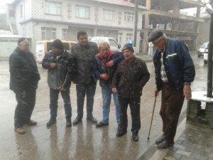 Tekirdağ'da yağmurlu hava yerini kar yağışına bıraktı
