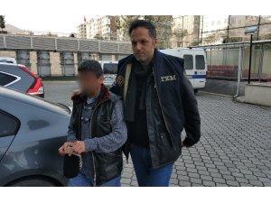 Terör örgütüne üye olmaktan cezası bulunan zanlı tutuklandı