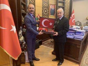 Talip Geylan'dan MHP Genel Bahçeli'ye tebrik ziyareti