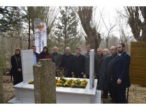 """""""Çanakkale"""" türküsünün yazarı Halk Ozanı İhsan Ozanoğlu, mezarı başında anıldı"""