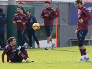 Trabzonspor, Alanyaspor maçı hazırlıklarını sürdürdü