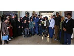 Başkan Özgüven'e ziyaretler sürüyor