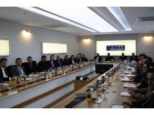 Türkerler Holding Yönetim Kurulu Başkanı Kazım Türker'den VEDAŞ'a ziyaret