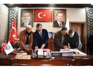 İhalesi yapılan katı atık tesisinin sözleşmesi imzalandı