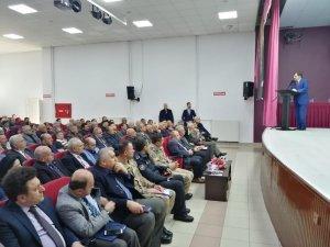 Niksar'da mahalli idareler seçim bilgilendirme toplantısı yapıldı