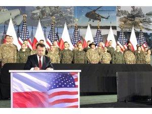 Polonya'dan ABD ile 414 milyon dolarlık anlaşma