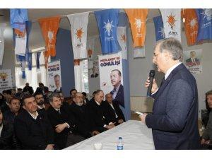 AK Parti Kartal Belediye Başkan Adayı  Taşyürek, ilçe sakinleriyle bir araya geldi