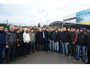 Bozbey Renault çalışanlarıyla buluştu