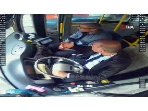 Patlama anında otobüste yaşananlar kamerada
