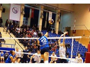 CEV Challenge Kupası: Aydın Büyükşehir Belediyespor: 3 - AO Thiras: 0