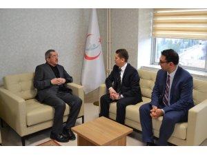 Vergili İl Sağlık Müdürü Dr. Ahmet Sarı ile bir araya geldi