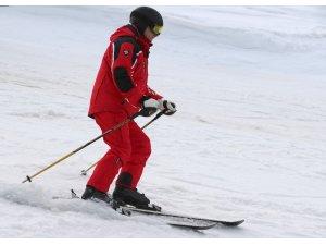 Putin ve Lukaşenko kayak yaptı