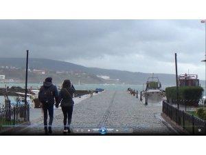 Bandırma'da şiddetli fırtına