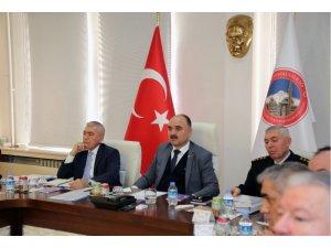 Seçim Güvenliği Toplantısı Vali Günaydın Başkanlığı'nda Yapıldı