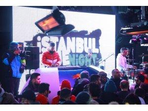 Uludağ'da festival finalini Merve Özbey yaptı