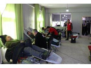 Hizan'da kan bağışına yoğun ilgi