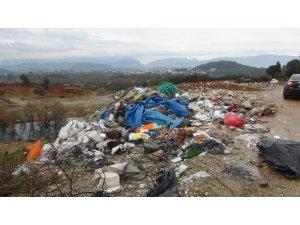 Sarılar'da çöp sorunu çözülemiyor
