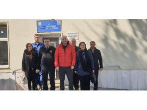 Lise öğrencilerinden İlçe Jandarma Komutanlığına ziyaret