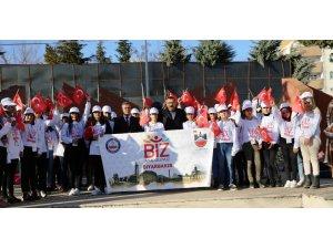 Öğrenciler 'Biz Anadolu'yuz Projesi' İle Çanakkale'ye  gönderildi