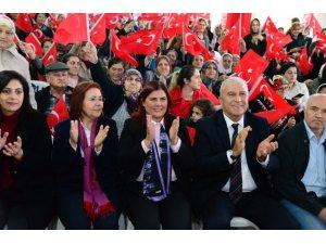 Başkan Çerçioğlu, Çeştepe'de kadınlarla buluştu
