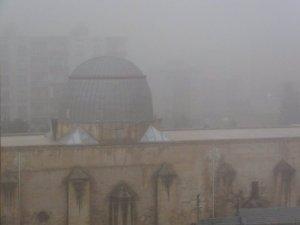 Mardin'de sisten dolayı uçaklar iniş yapamadı