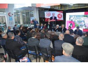 Başkan Özakcan, Mimar Sinan sakinleriyle buluştu