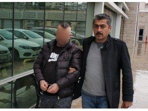 Mimardan şantaj ve tehditle 15 bin lira almaya 1 tutuklama