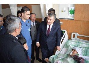 Sağlık Bakanı Koca Ağrı'da