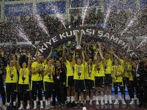 Kadınlar Türkiye Kupası Fenerbahçe'nin