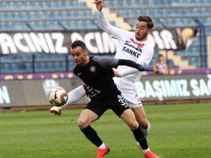 Spor Toto 1. Lig: Osmanlıspor: 0 - Gazişehir Gaziantep: 1
