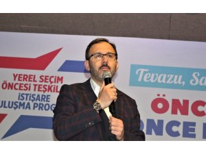 """Bakan Kasapoğlu: """"Dünyanın, en yeni, en modern spor tesisleri bizde"""""""