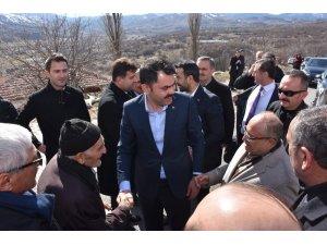 Bakan Murat Kurum ana ocağını ziyaret etti