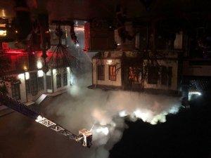 Ankara Hamamönünde korkutan yangın