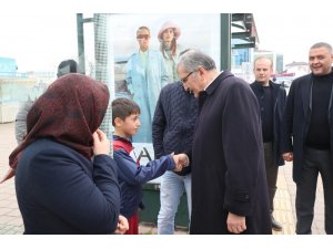 Beykoz Belediye Başkan Adayı Murat Aydın, Kavacık'ta esnafı ziyaret etti