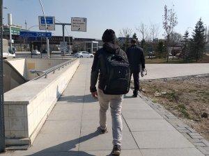 Cumhurbaşkanı Erdoğan ile görüşmek için 11 günde 601 kilometre yürüdü