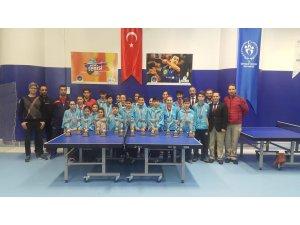 Yıldızlar ve Gençler Masa Tenisi Yerel Lig Müsabakaları Tamamlandı