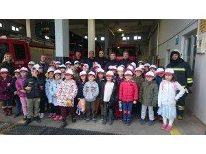 Büyükşehir Belediyesi'nden öğrencilere itfaiye ve yangın eğitimi