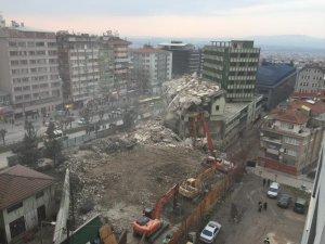 Bursa'daki o yıkım kontrollü yapılmış