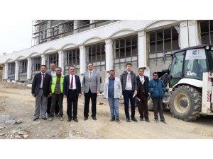 Adliye inşaatı devam ediyor