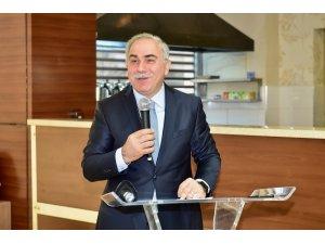 Fatih Belediye Başkan adayı Ergün Turan, turistik otel sahipleriyle bir araya geldi
