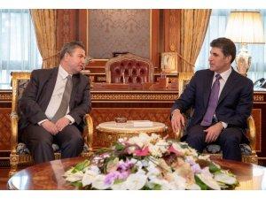 Dışişleri Bakan Yardımcısı Önal, IKBY Başbakanı Barzani ile görüştü