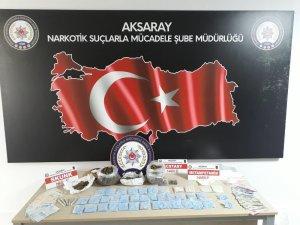 Aksaray'daki 2 ayrı uyuşturucu operasyonunda 5 tutuklama